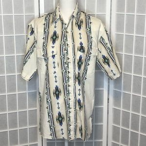 Wrangler pearl snap button up shirt vintage rodeo